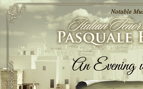 An Evening with Pasquale